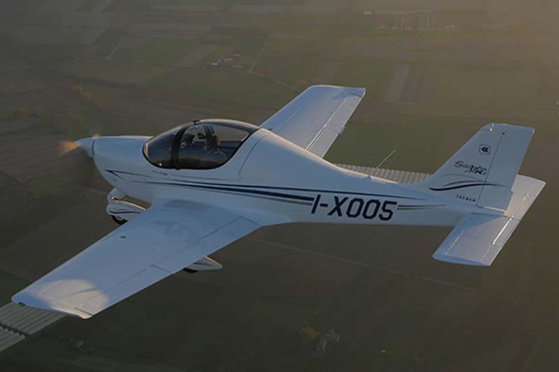 Avión P2002 Sierra MKII de Tecnam